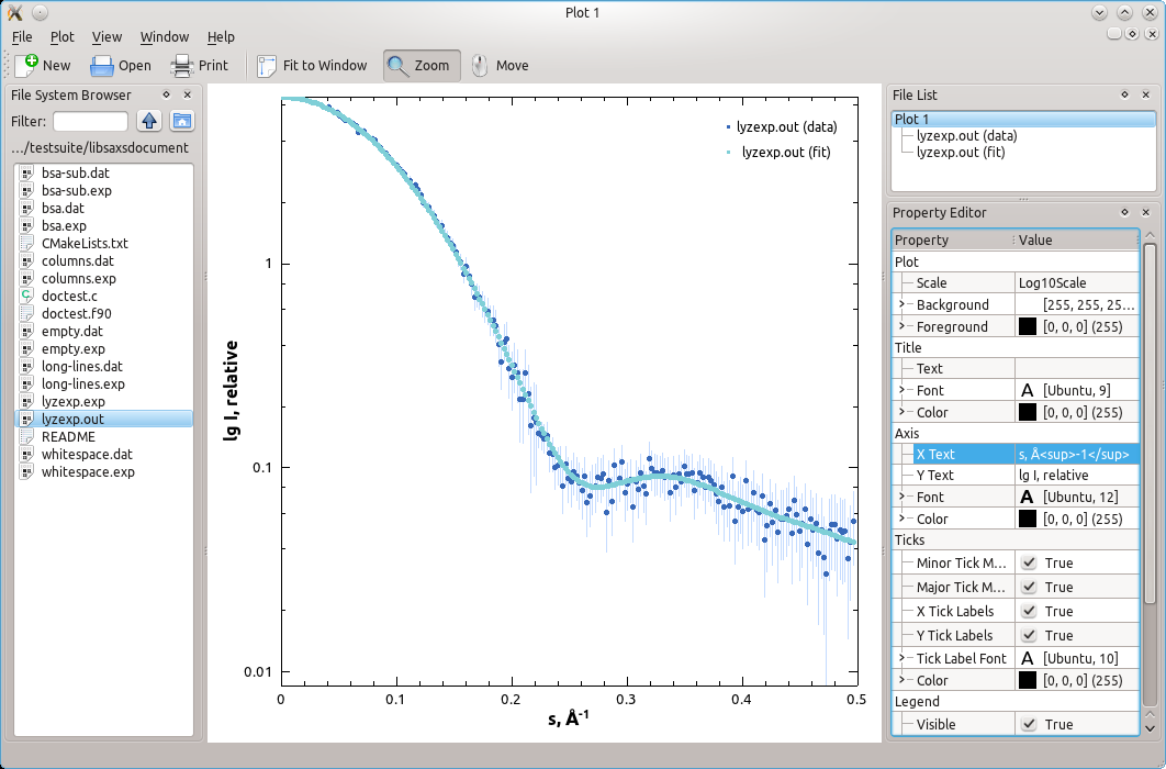 screenshot of svplot